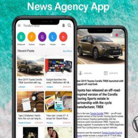 newsapp development