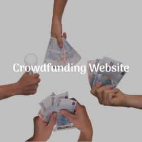 crowdfunding website demo