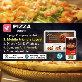 pizza website development