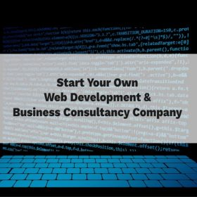 how to start a web development company