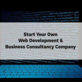 how to start a web development company